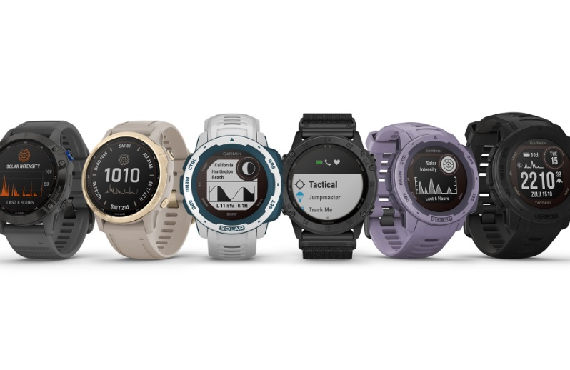 Garmin expands solar charging technology to multisport smartwatches