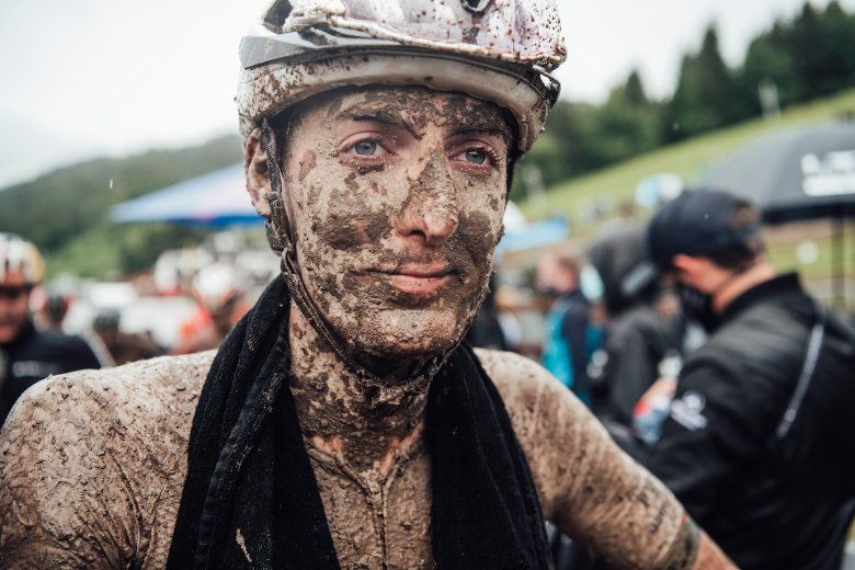 Alan Hatherly claims podium in Les Gets World Cup