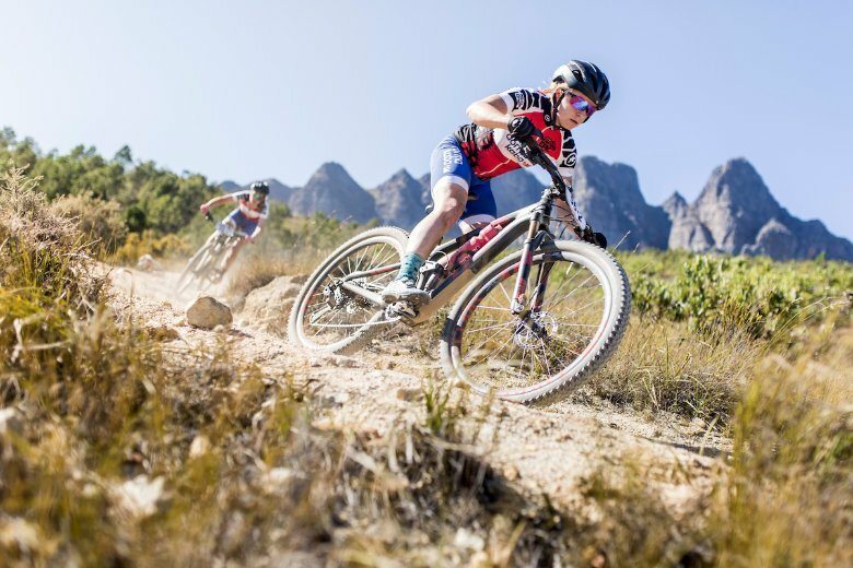 Elite women's field lining up at 2021 Absa Cape Epic