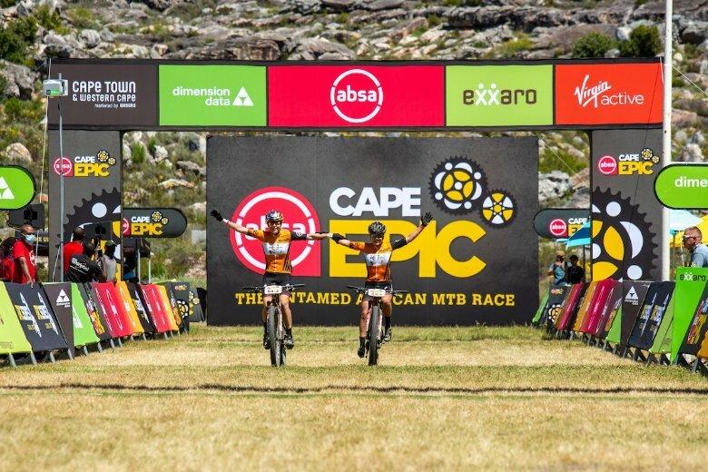 Sina Frei & Laura Stigger crush Cape Epic stage 1