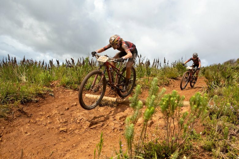 Stigger and Frei fly in Absa Cape Epic Prologue